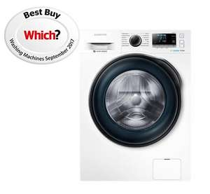 Samsung WW80J6410CW Freestanding Washing Machine, 8kg Load, A+++ Energy Rating, 1400rpm Spin, White - £369 delivered @ John Lewis & Partners