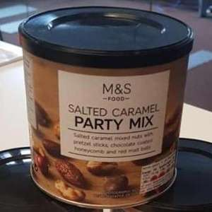 M&S Salted Caramel Party Mix - 50p Instore
