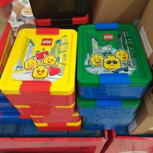 Morrisons Lego Lunch Boxes and Drink Bottles Reduced