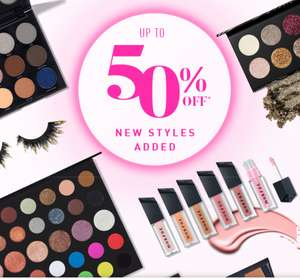4 Morphe Palettes now £24 delivered part of the 50% off sale @ Morphe
