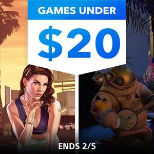 Games Under $20 @ PlayStation PSN US - Outer Wilds £15.39 Rise of The Tomb Raider 20Y £6.92 Batman SP £3.80 UFC 3 £4.61 PayDay 2 £2.30 +MORE