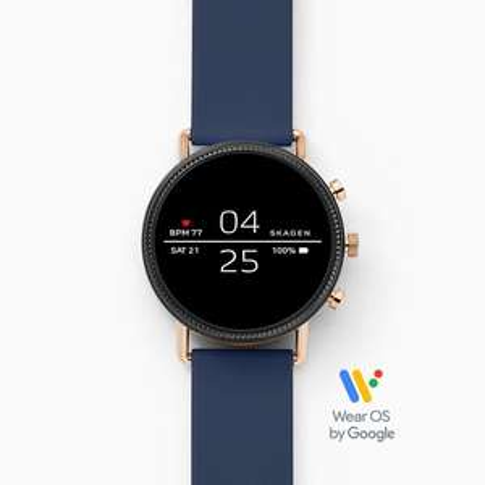 Skagen Smartwatch - Falster 2 Navy Silicone £143.20 with code from Skagen UK