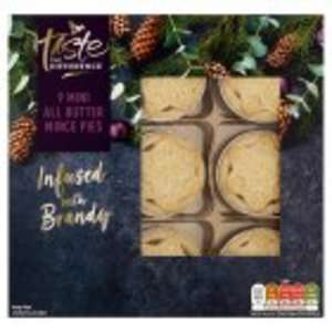 Sainsbury's all butter taste the difference 9 mini mince pies - 10p instore London