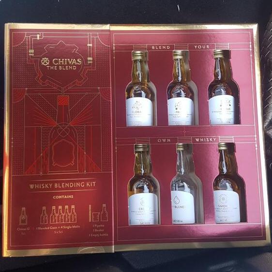 Chivas Whisky Blending kit Reduced to £6.67 at Tesco (Forge Retail Park) Glasgow