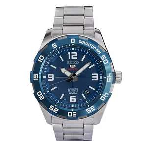 Seiko Sports 5 Men's Stainless Steel Bracelet Watch £105 @ H.Samuel