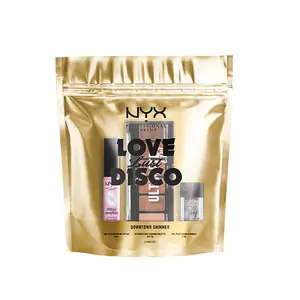Nyx Make Up Love Lust Disco (lip oil, eye foil, eyeshadow palette) £2.99 / £2.69 with student discount @ Superdrug