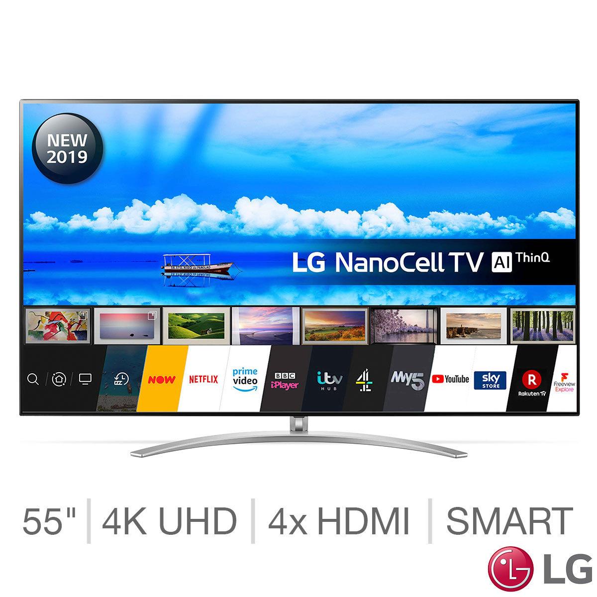 LG 55SM9800PLA 55 Inch NanoCell 4K Ultra HD + SL6YG soundbar (5 year guarantee) £1,289.89 @ Costco