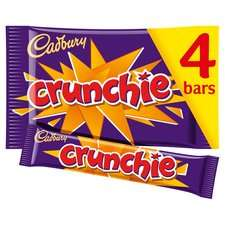 Crunchie 4-Pack 38p at Tesco (Manchester)