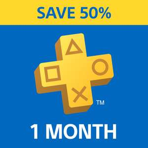 PlayStation Plus PS+ 1 Month Subscription £3.49 @ PSN Store UK (for Unsubbed users)