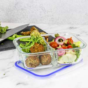 Maison & White Set of 4 Meal Prep Containers 2/3 Compartments £13.99 @ Roov (Free P&P With Code)