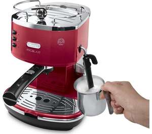 DELONGHI Icona Micalite ECOM 311.R Coffee Machine Red or Black £99.99 @ Currys/PC World