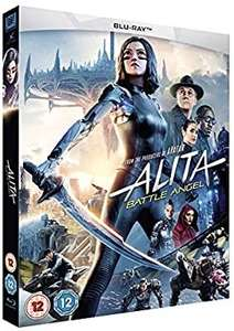 Alita battle angel blu ray £9.45 @ Amazon (£2.99 p&p non Prime)
