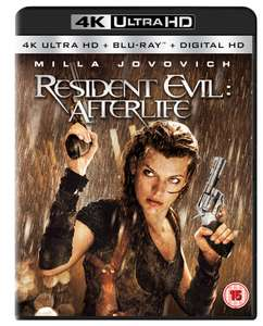 Resident Evil Afterlife 4k UHD £6.99 @ HMV free click and collect