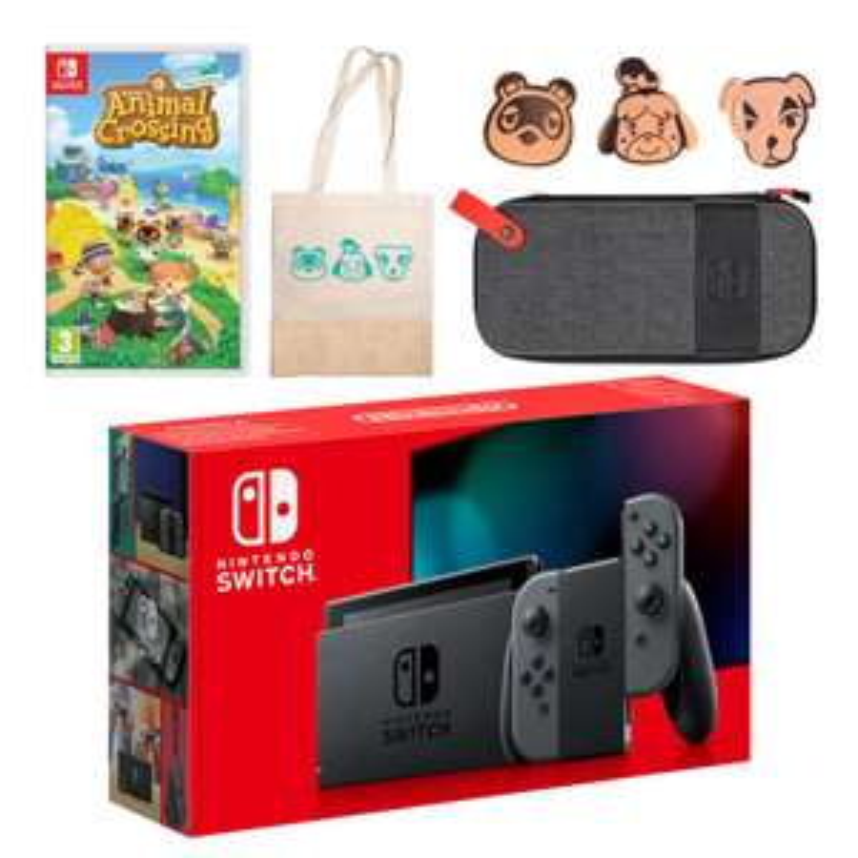Nintendo Switch (Neon Blue/Neon Red) Animal Crossing: New Horizons Pack £329 @ Nintendo Store