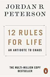 Jordan B. Peterson 12 Rules for Life: An Antidote to Chaos now £3.99 (Prime) £6.98 non-Prime at Amazon