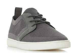 Dune sale 70% off Terminal - GreyKnitted Lace Up Trainer £21.50 delivered