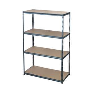 'Storeall' 4 Tier Shelving Unit (1830 x 1200 x 540mm) - £29.25 + £5 Delivery @ Homebase