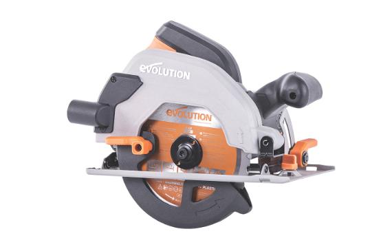 Evolution 1200w 165mm 230v Electric Circular Saw (R165CCSL) - £39.99 + Free Click & Collect @ Screwfix