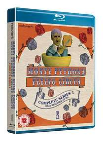 Monty Python's Flying Circus: The Complete Series 1 - Fully Restored [Blu-ray] [Region Free] £15.71 prime / £18.70 non prime @ Amazon