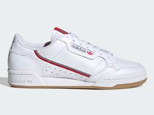 Adidas Continental 80 Trainers now £29.98 sizes 3.5 up to 10.5 (Free Click & Collect / £3.99 delivery) @ Adidas