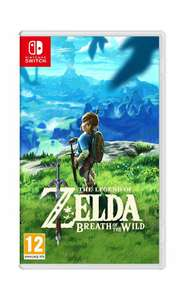 The Legend Of Zelda: Breath Of The Wild - Nintendo Switch (PRE OWNED - LIKE NEW) £36.95 @ CoolShop