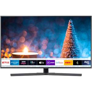 """Samsung UE50RU7400 50"""" Smart 4K Ultra HD TV with HDR10+, Dynamic Crystal Colour, Apple TV, Slim Design One Remote Control now £399 @ AO"""