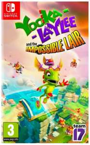 Yooka Laylee And The Impossible Lair (Switch) £18.00 @ The Game Collection
