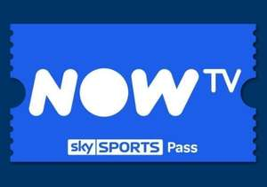 Now TV Sky Sports 1 Month Mobile Pass £4.15 @ Gamivo