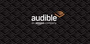50% off membership for the first 3 months (£11.97 for 3 months) @ Audible (+£10 possible cashback)