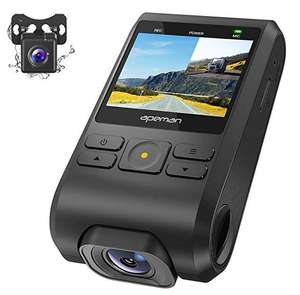 APEMAN Dash Cam Front and Rear 1080P £31.99 using voucher - Sold by DEIHO and Fulfilled by Amazon