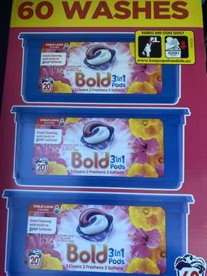 Bold Pods Sparkling Bloom 60Ct Box £9 at Tesco
