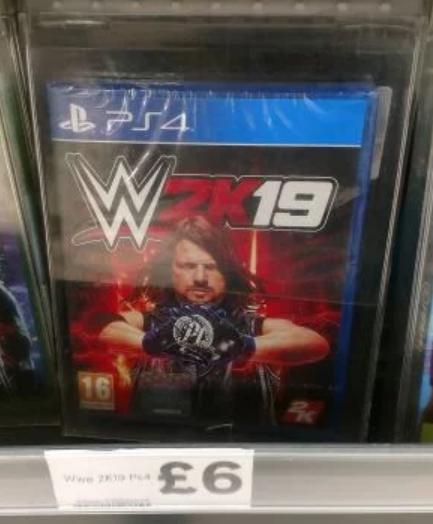 WWE 2K19 Low price £6 at Tesco in-store - Martlesham