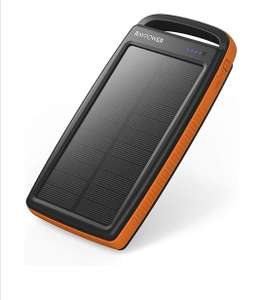 RAVPower Solar Charger 20000mAh Portable Charger £16.89 Sold by Sunvalleytek-UK and Fulfilled by Amazon
