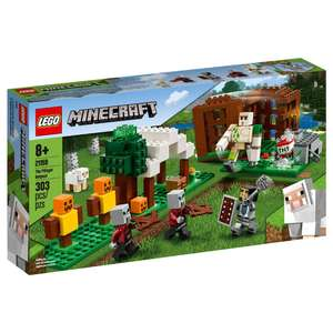 Lego Minecraft Pillager outpost only £8.50 @ B&M Retail