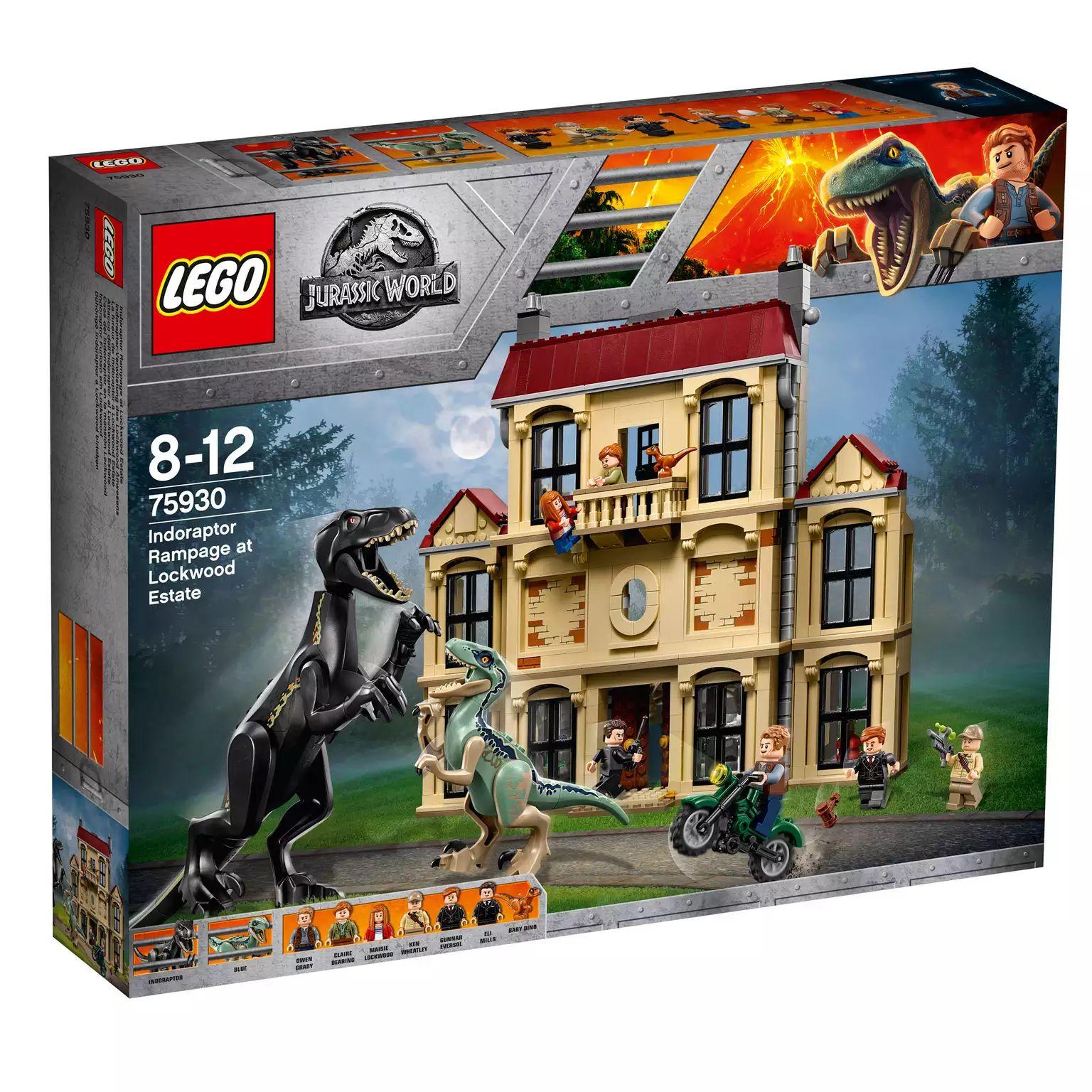 LEGO - 'Jurassic World - Indoraptor Rampage at Lockwood Estate' set - 75930 - £84 at Debenhams
