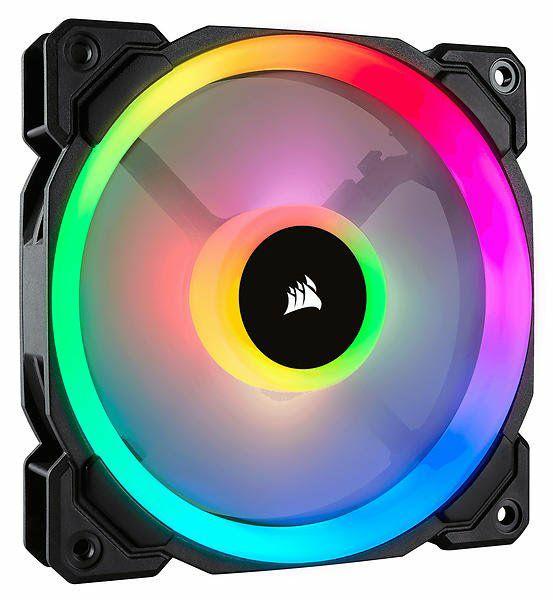 Corsair LL120 RGB 120mm Dual Light Loop RGB LED PWM PC Case Fan £16 at AWD-IT