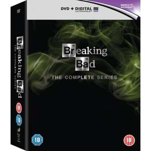 Breaking Bad: The Complete Series (2008 - 2013) (DVD + Digital Copy) £11.86 Delivered with code @ Zoom