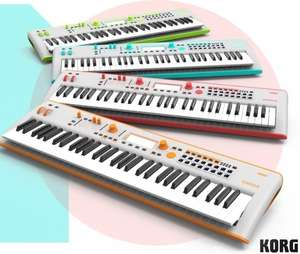 KORG Kross 2, 61-key Synthesizer Workstation, Limited Edition Neon colours £399 @ Kennys Music
