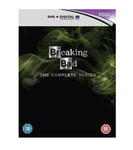 Breaking Bad: The Complete Series [DVD] £13.18 at Amazon (digital codes still valid though Google)