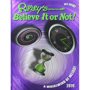 Ripley's believe it or not 2019 - new - £1 instore @ Poundland Romford