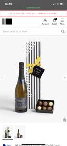 John Lewis & Partners Prosecco & Chocolates Giftset 70% off - £7.50 + £2 Click and Collect