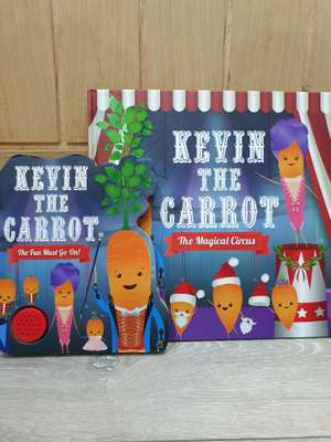 Kevin The Carrot Books 29p at Aldi Cardiff