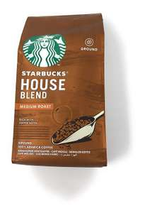 Starbucks Medium Roast + Dark / Espresso Ground Coffee. £1 instore @ B&M