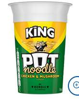 Pot Noodle King all varieties 70p @ Tesco