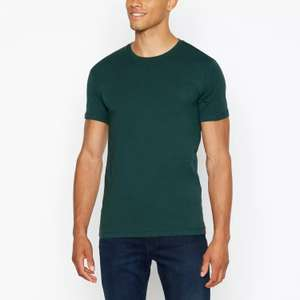 Levi's - 2 Pack Dark Green and Red Slim Fit T-Shirts £12.00 @ Debenhams free C&C