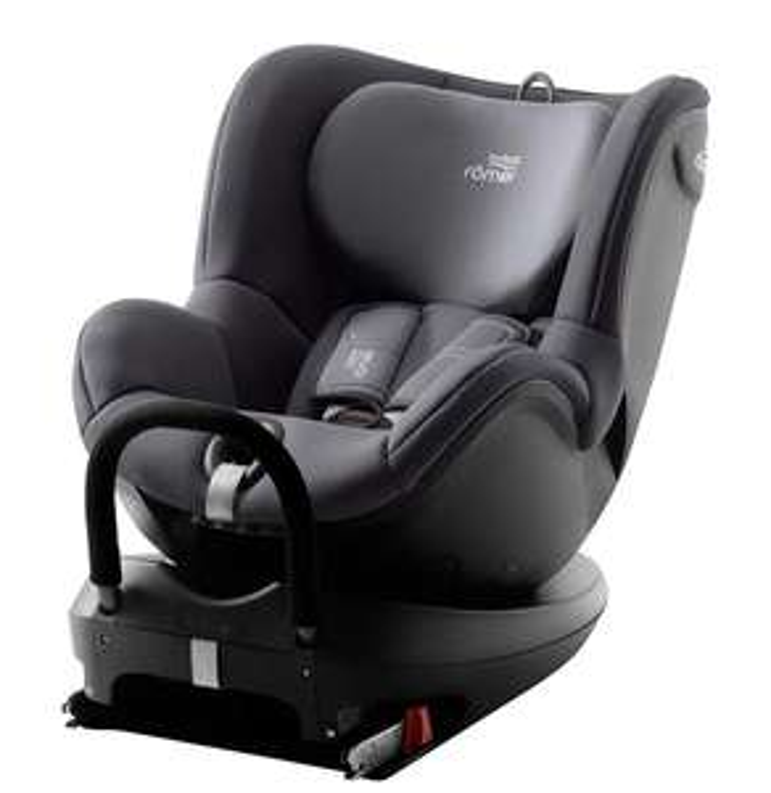 Britax Römer DUALFIX 2 R, Swivel Child Car Seat Group 0+/1 (Birth - 18 kg), Storm Grey INC BASE at Amazon £164.52