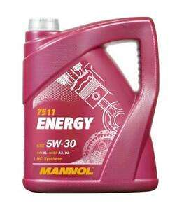 5 Litre Mannol Energy 5w30 Fully Synthetic Engine Oil A3/B3 £12.74 at Ebay/lubriagecarpartsaccessories