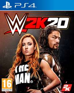 WWE 2K20 (PS4\Xbox One) £17.99 @ GAME