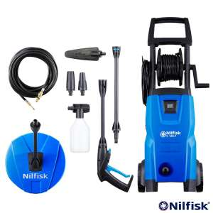 Nilfisk C125.7-6 Maintenance X-Tra Pressure Washer with Patio Cleaner, Drain Cleaner and Wash Brush £99.99 delivered @ Costco