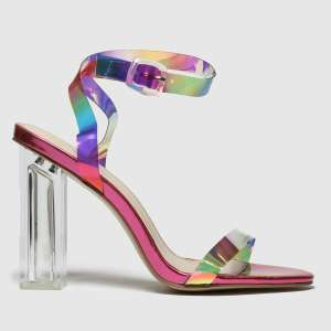 Public Desire pink & gold alia high heels Sizes 4-6. £8.99 Free C&C @ Schuh